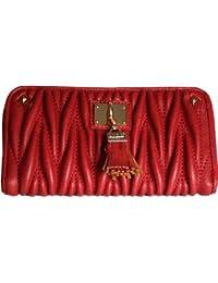H&G LYDC luxe matelassé sac à main Designer Zip en Faux cuir et détails Tassle \ Wallet