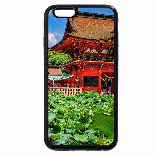 iPhone 6S / iPhone 6 Case (Black) lotuses at iga hachiman shrine japan