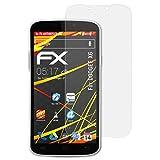 atFolix Schutzfolie kompatibel mit DOOGEE X6 Bildschirmschutzfolie, HD-Entspiegelung FX Folie (3X)