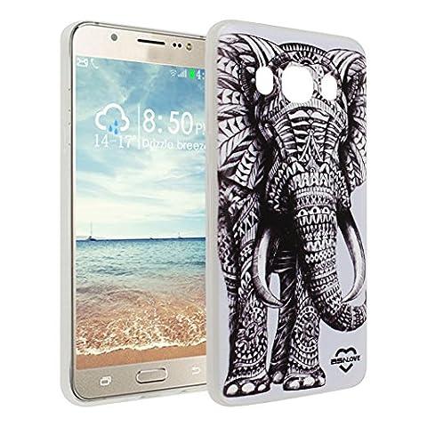 Étui Pour Samsung Galaxy J510, Asnlove Premium Silicone TPU Housse