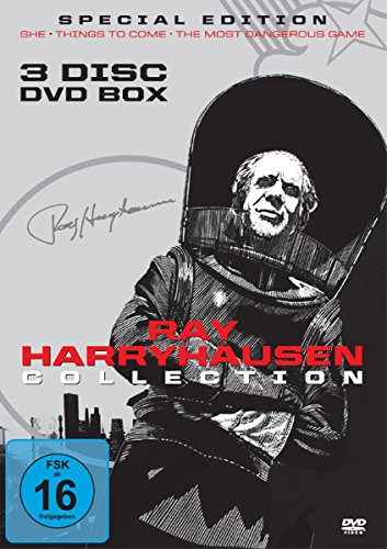 Ray Harryhausen Limited Collection (3 Filme DVD Box) [Special Edition]