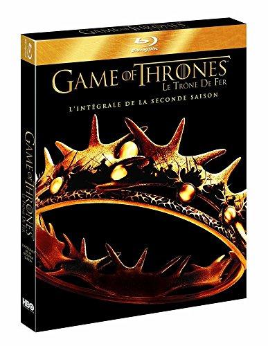 Coffret Game of Thrones: Le Trône de Fer - Saison 2 [Francia] [Blu-ray]