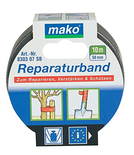 mako Reparaturband; ca. 50 mm x 10 m; silber