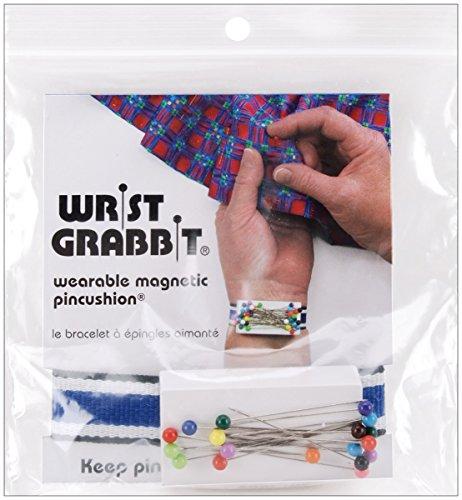 Blau Feder Handgelenk Grabbit Magnetic Nadelkissen