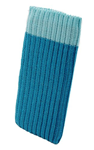 iPhone 6 / 6s / 7 PLUS Handysocke Strick-Tasche in hellblau Original smartec24® Rundumschutz dank dicker dicht gestrickter Wolle passt sich dank Strech perfekt dem jeweiligen Smartphone an