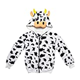 Kapuzenjacke Kuh für Erwachsene