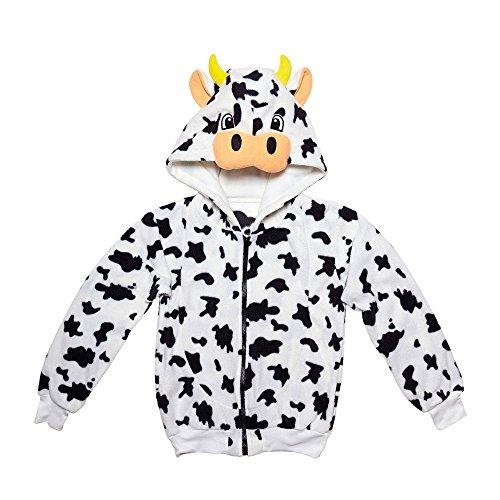 Erwachsenen-kapuzenjacke (Kapuzenjacke Kuh für Erwachsene)