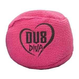 DV8 Diva Balle grip en microfibre Rose