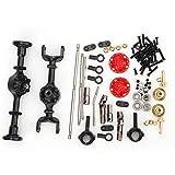 Dilwe RC Auto Achssatz, Metall Upgrade Teil Fit für WPL 1/16 B14 B24 B26 C14 C24 RC Auto Modifikation -