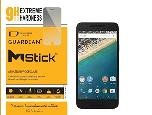 mStick Guardian Plus Premium HD Tempered Glass For LG Nexus 5X  available at amazon for Rs.76