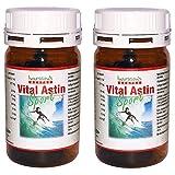 VitalAstin SPORT - 12 mg natürliches Astaxanthin - versandkostenfrei - 2 DOSEN (2 x 100 K.) NEUE FORMEL = natürliches Astaxanthin plus Zink und Vitamin B1 - Das Original Ivarsson's VitalAstin - Ein Kapsel täglich Formula - höher dosiert - mehr Effekt!