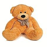 #10: GTC Cute/Lovable Super Soft 4 Feet Stuffed Spongy/Fluffy/Huggable/Cute High Quality Small Teddy Bear for Birthday Gifts/Girls/Lovable/Valentine (Brown)