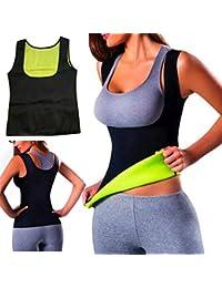 chaud Thermo Thank Top Sweat Gilet de yoga la transpiration en néoprène Body Shaper minceur Tour de taille Shaper Trainer Top Gilet serre-taille