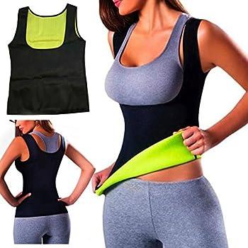 bcfcfedd13ac7 Warm Thermo Yoga Vest Sweat Neoprene Body Shaper Slimming Waist Trainer  Cincher (S (UK 6-8) (EU 34-36))