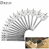 #10: 1Pc Woodworking Tools Titanium Coated Spade Flat Head Wood Boring Drill Bits Power Tools for Hand Drill Wood Drilling … (40mm)