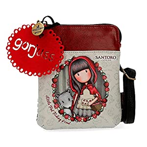 Gor-juss Little Red Riding Hood Neceser Pequeño Tres Compartimentos, Multicolor, 20 cm