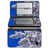 Blumen 10038, Blumenfeld, Design folie Sticker Skin Aufkleber Schutzfolie mit Farbenfrohe Design für Nintendo DSi XL Designfolie