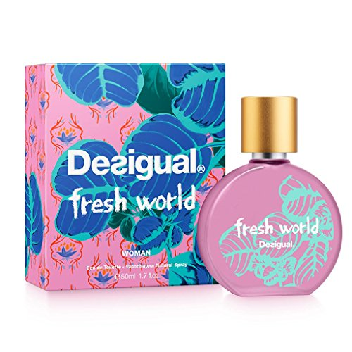 DESIGUAL FRESH WORLD WOMAN EDT 50ML