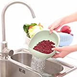 #8: EVANA Fruits Vegetable Noodles Pasta Washing Bowl & Strainer Good Quality & Perfect Size for Storing and Straining (APPLE BASKET BOWL-F)