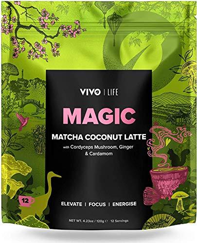 Vivo Life - Magic - Veganer Kokosnuss Matcha Latte, 120gr -