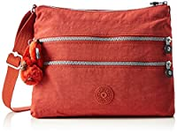 Kipling Women�??s Alvar Cross-Body Bag, Red Rust, 33 x 26 cmX4.5CM (B x H x T)