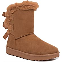 bottes style ugg avec fourrure