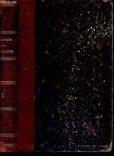 TRAITE DE ZOOTECHNIE - TOME 1 - BIBLIOTHEQUE AGRICOLE - Zoologie et zootechnie générales - organisations, fonctions physiologiques et hygiène des machines animales par SANSON ANDRE