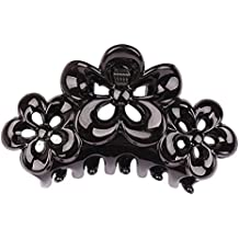 Gudelaa Plum Shape Clips Floral Hair Clamp Claw Clip Comb Grip Multi-color
