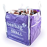 BeeBag Small 1 Tonne FIBC Bulk Bag for Builders and Garden Waste Storage 1 Cubic Yard