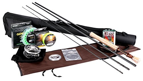 Goture Fly Fishing Rod et Reel combos Kit 5/6 7/8 avec...
