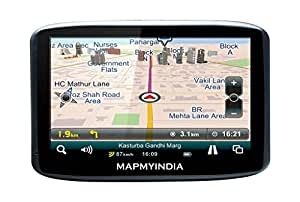 Mapmyindia Lx350 Touch Screen GPS Tracking Navigation Device with 12.7cm-inch Screen