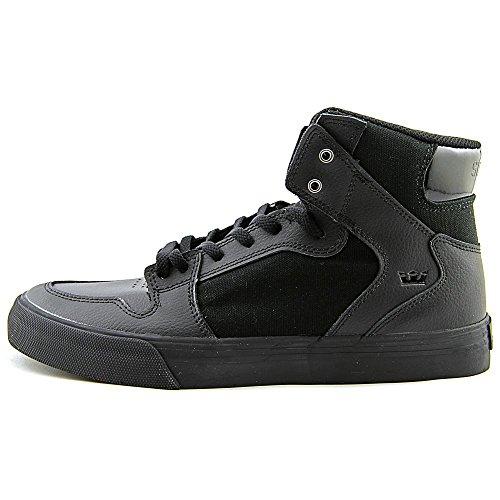 Supra VAIDER S28058 Unisex - Erwachsene Sportive Sneakers Schwarz