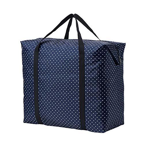 YUDEYU Tragbar Finishing-Tasche Gepäck Packsack Decke Kleidung Lager Falten Staubbeutel (Color : 1 pcs, Size : 96x56x30cm) -