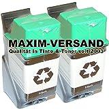 MAXIMPRINT 2x XXL Tintenpatronen für HP 26 XL Black 51626AE kompatibel zu HP DeskJet 400c 420c 500c 510 520 540c 550c 560c DeskWriter 310 320 340 500c 510 520 540 550c 560c Fax 200 300 310 700 750 900 950 OfficeJet 300 310 320 330 350C 370 380 LX DesignJet 600