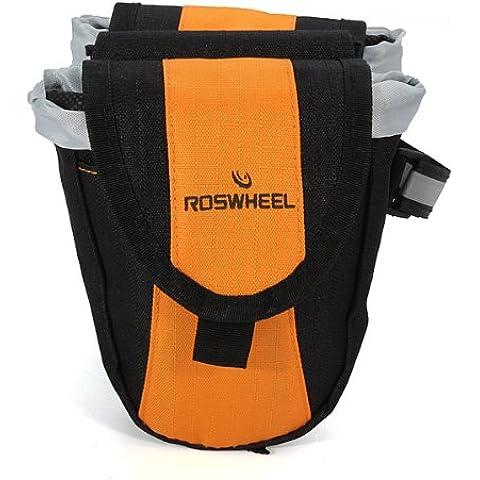 MaMaison007 ROSWHEEL montaña bici bicicleta bicicleta multifunción bolsas-amarillo