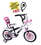 Speed bird cycle industries Kid's 14-T NEXTRA with Back Carrier Bicycle Baby Cycle