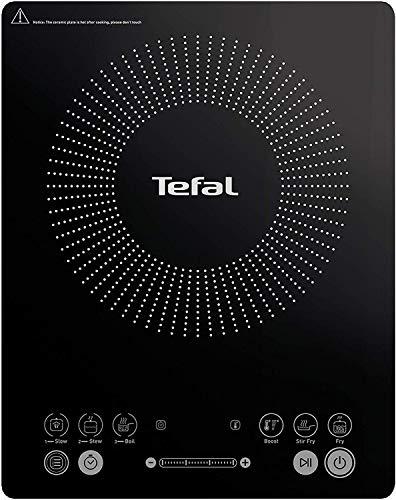Imagen de Placa de Inducción Portátil Tefal por menos de 60 euros.