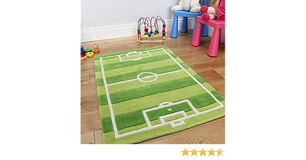 Tappeti Per Bambini Campo Da Calcio : The rug house tappeto gioco per bambini campo da calcio resistente