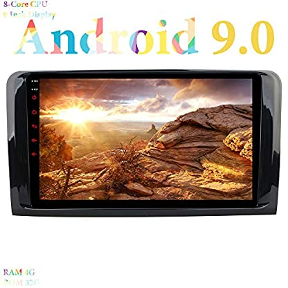 XISEDO-9-Android-90-Autoradio-In-Dash-Car-Radio-8-Core-RAM-4G-ROM-32G-Autonavigation-fr-Mercedes-Benz-MLGL
