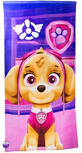 Nickelodeon Paw Patrol Hunde Skye Kinder, Mädchen Strandtuch, Badetuch, Handtuch für zu Hause oder den Urlaub am Meer, 140 x 70cm