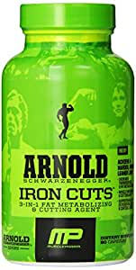 Arnold's Iron Cuts, 90 Caps , 30 Serving