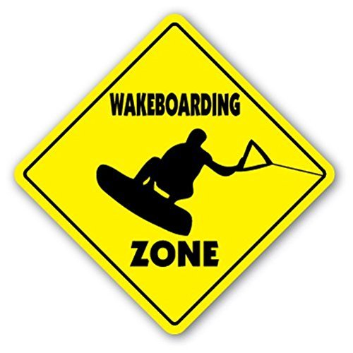 Wakeboarding Zone Sign regalo deporte Surf