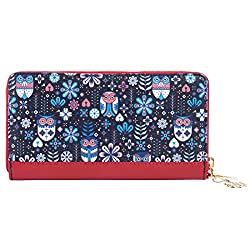 Chumbak Navy Blue Womens Wallet
