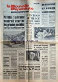 NOUVELLE REPUBLIQUE (LA) du 03/12/1973 - LA CRISE DU PETROLE - LES SPORTS - DAVID BEN GOURION - LE FONDATEUR D'ISRAEL EST MORT - LA LIBYE ROMPT AVEC L'EGYPTE - PIONEER 10 PREND DES PHOTOS DE JUPITER