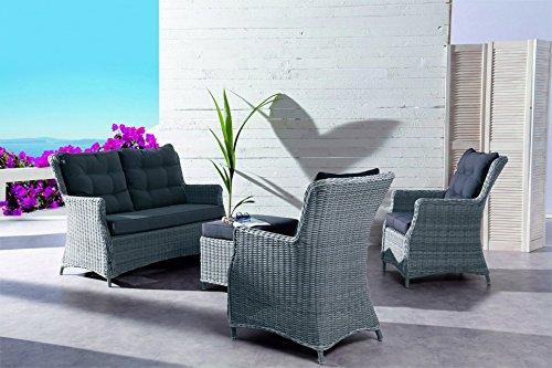 BEST 41615003 Couch Barcelona, warmgrau - 2