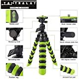 Yantralay 12 Inch Flexible Gorillapod Mobile Tripod With Quick Release Plate, Mobile Holder, Tripod Mount & Rotating Ball Head For DSLR, Action Cameras & Smartphones (Green)