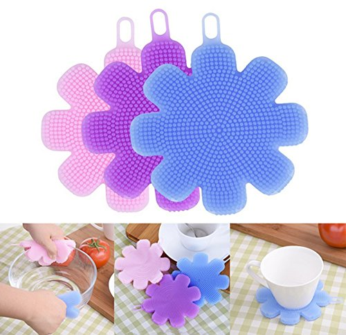 3pcs-multi-function-eco-friendly-dish-bowl-cleaning-creative-brush-heat-resistant-mat-flower-style-a