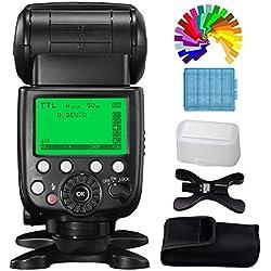 PIXEL Flash Speedlite 2,4G TTL Master 1/8000s X800N Pro sans Fil Speedlite pour Nikon Appareil Photo, Remplacer Nikon SB-800 SB-900