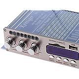 Hy-502s Fm Mp3 Altavoz Reproductor de Audio Amplificador Estéreo Bluetooth para Coche Azul