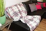 H & S Collection 2er Set (=2 Stück) XL - Kuscheldecke, warm weich , zum Kuscheln und Verlieben mit bezaubernder Soft - Optik - elegante Farbgestaltung - Wunderschön für ein wohnliches Ambiente auf dem Sofa oder der Couch - wundervoll kuschelig - warm und weich - Größe 130 x 170 cm - auch als Sofaüberwurf / Sesselüberwurf geeignet